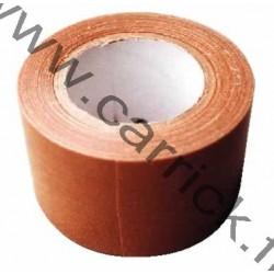 Toile adhésive marron