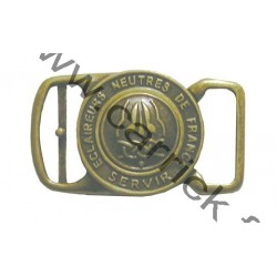 Boucle ceinturon bronze ENF