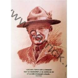 Poster portrait Baden-Powell