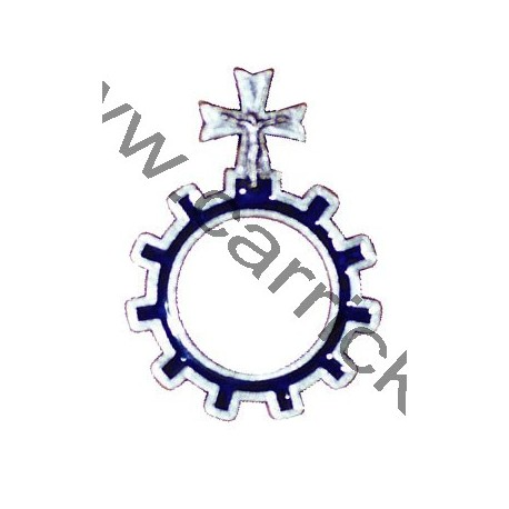 Dizainier émaillé bleu  GSE