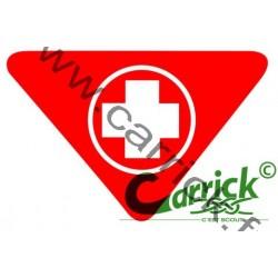 Badge lvt - Secouriste