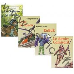 Série la Patrouille des Hérissons - lot de 4 livres