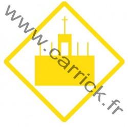 Badge  ACOLYTE -ECLAI EUROPA-