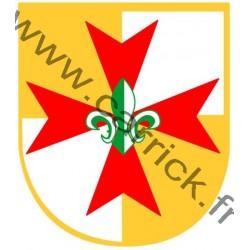 Croix tissée Europa-Scouts