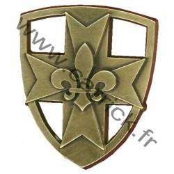 Croix métallique Europa-Scouts