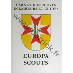 Carnet d'épreuves Eclaireurs - Guides