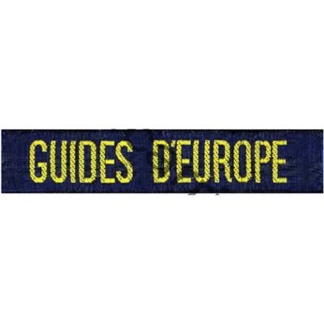 Bande GUIDES D'EUROPE