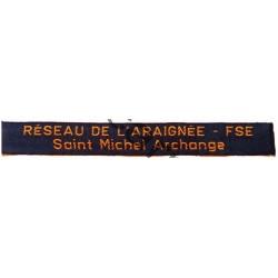 Bande RESEAU DE L'ARAIGNEE...