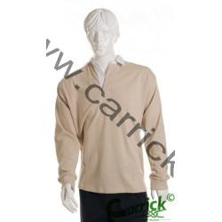 Polo de rugby BEIGE
