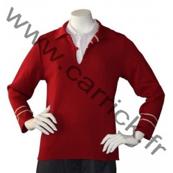 Pull vareuse ROUGE