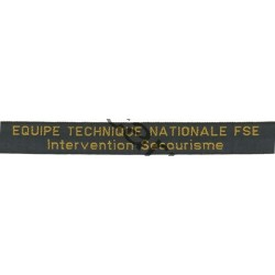 Bande fonction ETN - Intervention / secourisme x 2