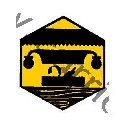 Badge éclaireur GSE - art du bois