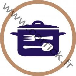 Badge Cuisinier - ENF