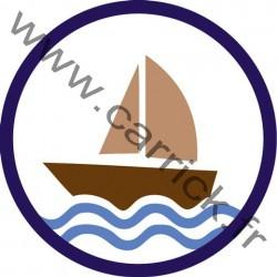 Badge Lacs et Océans - ENF