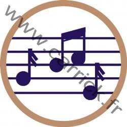Badge Musicien - ENF