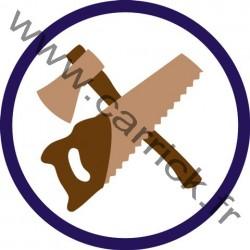 Badge Pionnier - ENF