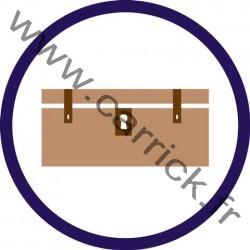 Badge Responsable du matériel - ENF