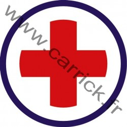 Badge Secouriste - ENF