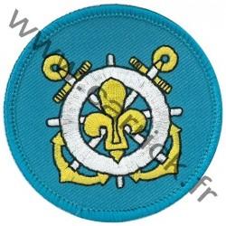 Ecusson Scouts marins - Patron