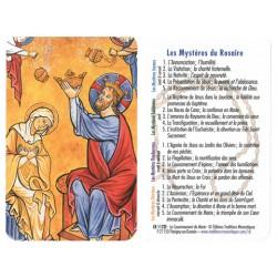 Prière en poche –  mystères du rosaire