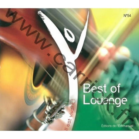 CD – Best of Louange – vol 1