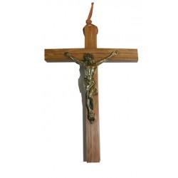Croix chêne avec Christ en...