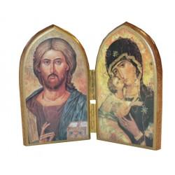Diptyque Christ et Vierge