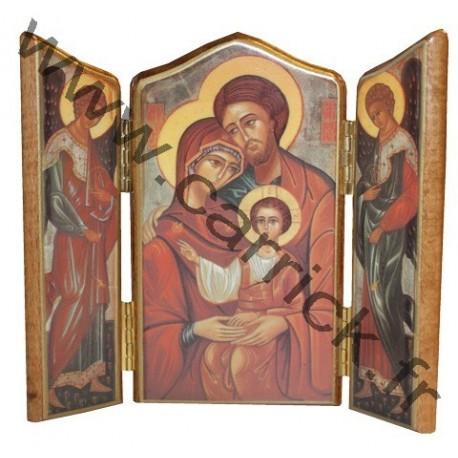 Triptyque Sainte Famille