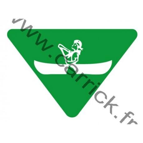 Badge louvetisme GSE - Céiste - Kayakiste
