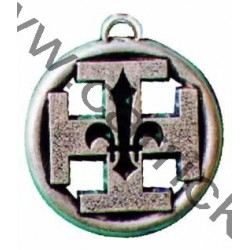 Croix de conseiller religieux potencée