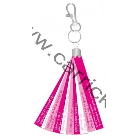 Porte clé rubans - Loi Guide