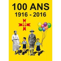 CP - 100 ans du louvetisme