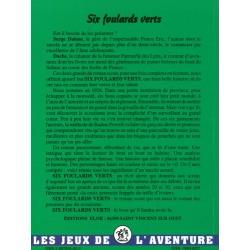 Six foulards verts