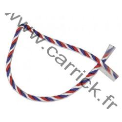 Cordelette tricolore ( 1m )...