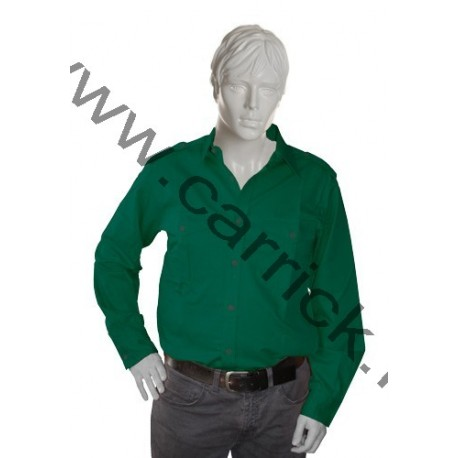 Chemise scoute Verte