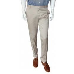 Pantalon toile droit beige - Philippe
