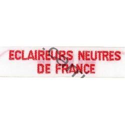 Bande ECLAIREURS NEUTRES DE FRANCE -