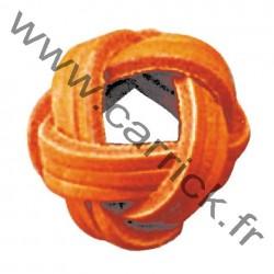 Bague de foulard tressée - 3 torons