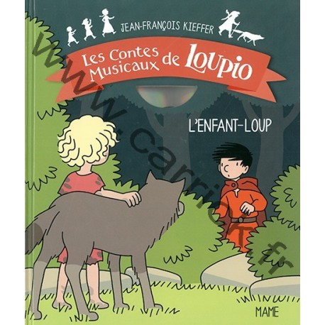 L'enfant Loup - livre CD