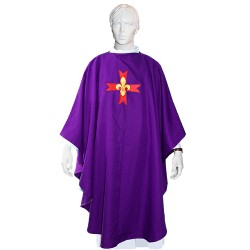 Chasuble violette - GSE