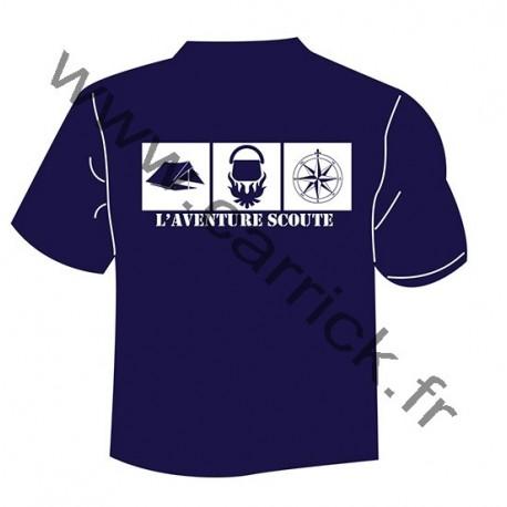 "T.Shirt  ""L'aventure Scoute"""