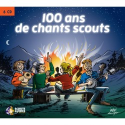 Coffret CD 100 ans de chants scouts