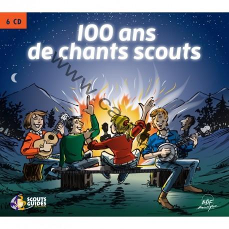 Coffret CD 100 ans de chants scouts