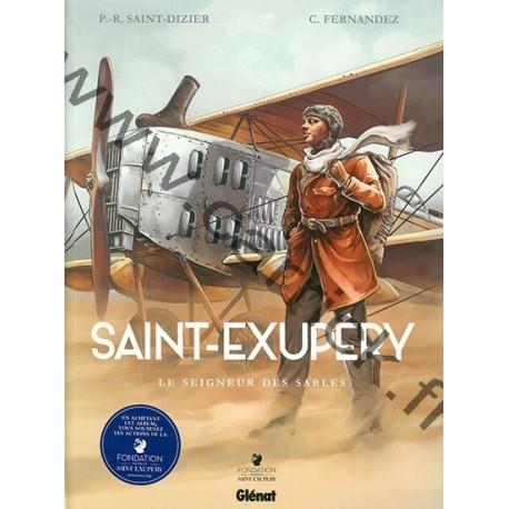 BD Saint Ex - Le seigneur des sables