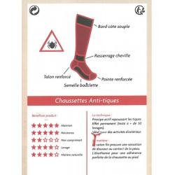 Chaussettes anti-tiques