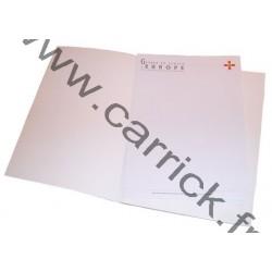 Papier à lettres - GSE - 50 feuilles