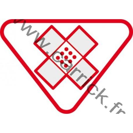 Badge lvtx Aide Secourisme - ENF