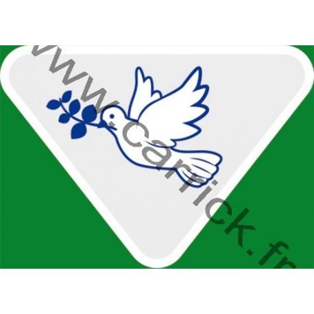 Badge lvtx Artisan de paix - ENF