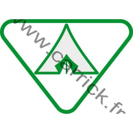 Badge lvtx Campeur - ENF