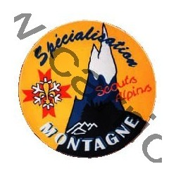 Autocollant - scouts alpins GSE